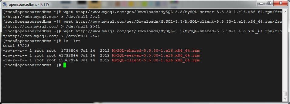 mysql 5.5 download