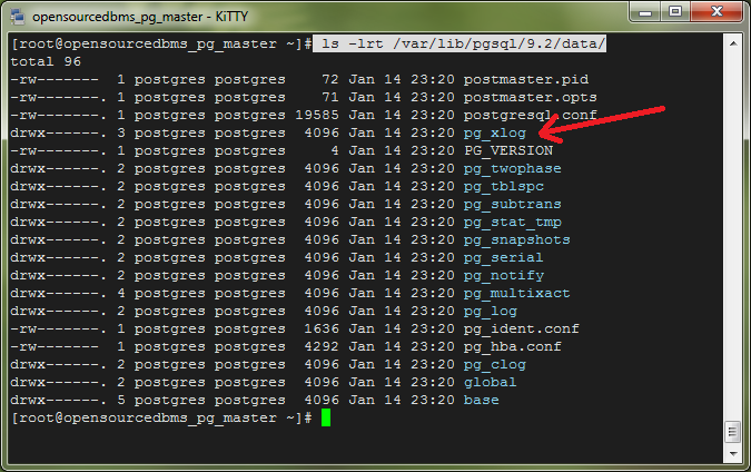 how to change data directory in postgresql in linux